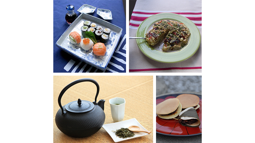 "Main image of ""Learn Japanese food and culture"" series"