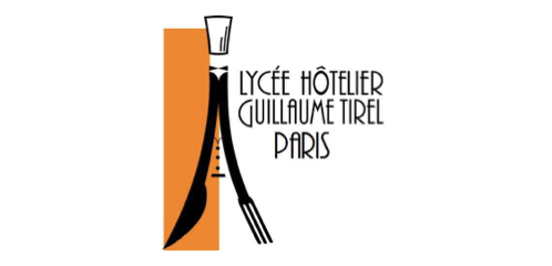 lycee hotelier guillaume tirel parisのロゴ